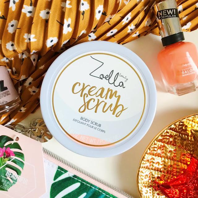 Zoella Cream Scrub