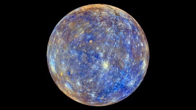 Mercury: world of ice and fire