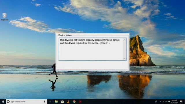 3 طرق لإصلاح رسالة خطأ التعريفات Code 31 في ويندوز 10