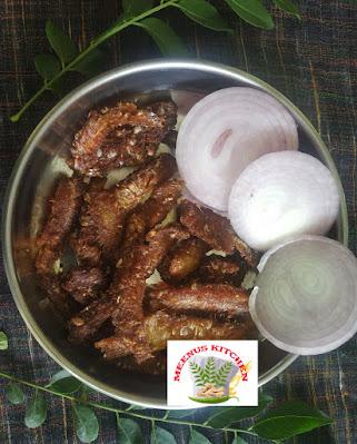 Veloori fish fry kerala style
