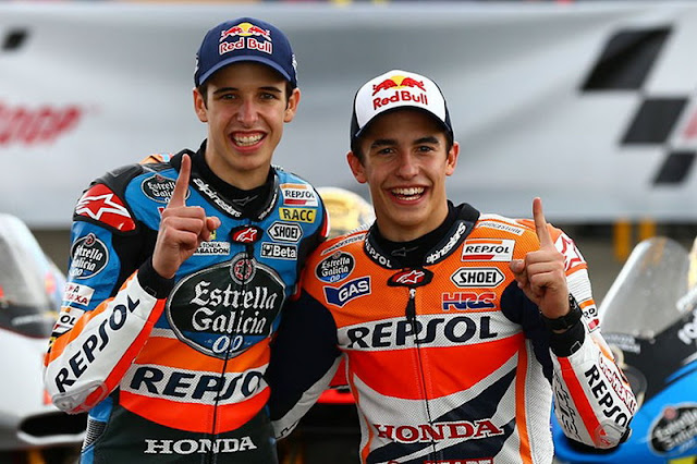 Alex Marquez dan Marc Marquez - MotoGP