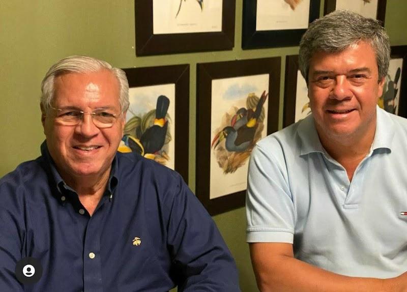 Dr Haroldo Azevedo visita a capital do Oeste do RN e o maior produtor de melão do Brasil, Luiz Roberto Barcelos da Agrícola Famosa