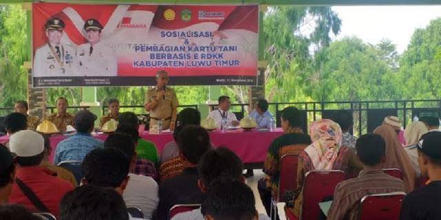 Ikut Memberi Jaminan Pupuk, Bank BRI Terbitkan Kartu Tani