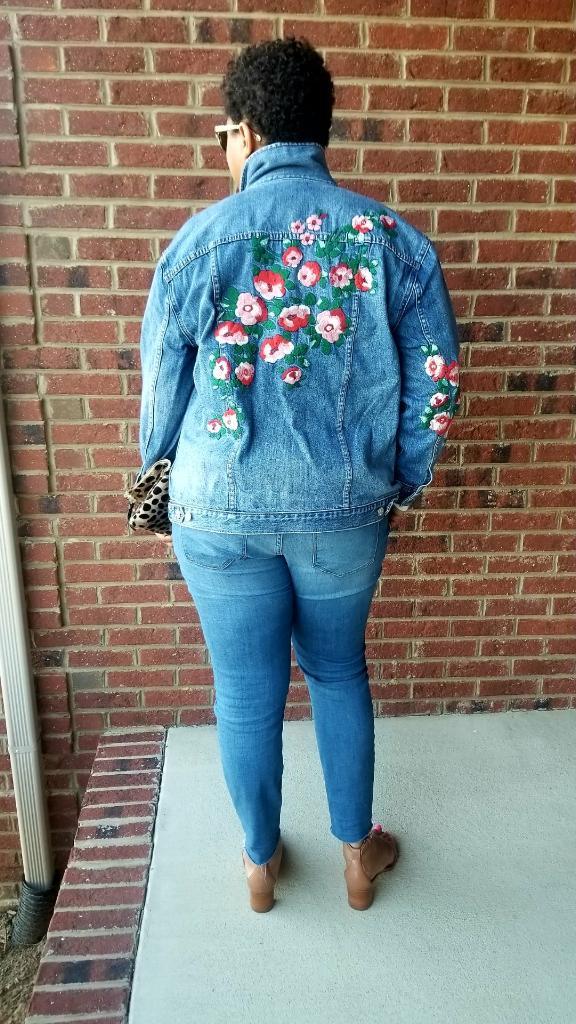 Sims 4 oversized jean jacket
