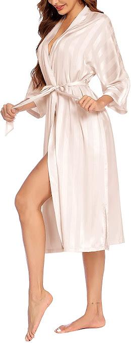 Long Satin Robes For Women