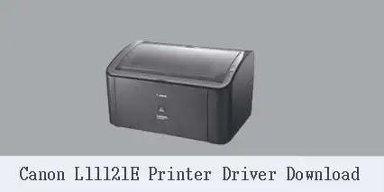 Canon L11121E Printer Driver Software [Free Download]