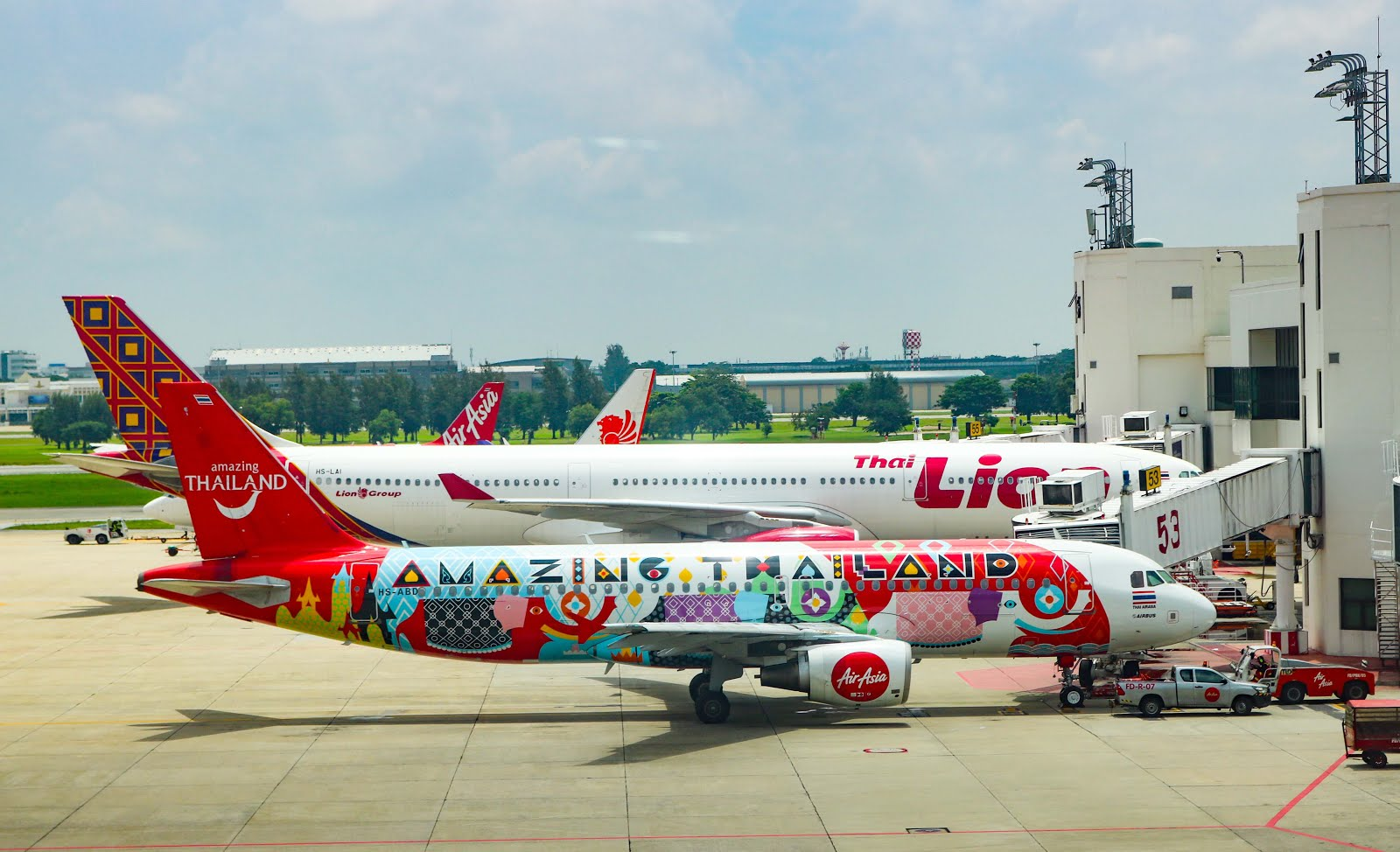 Air Asia, Amazing Thailand Livery, Airbus A320
