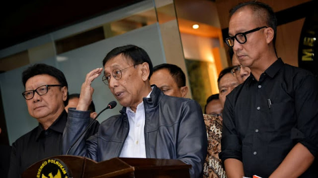 Wiranto: Tak Ada Penjarahan di Palu, yang Ada Pengambilan Barang