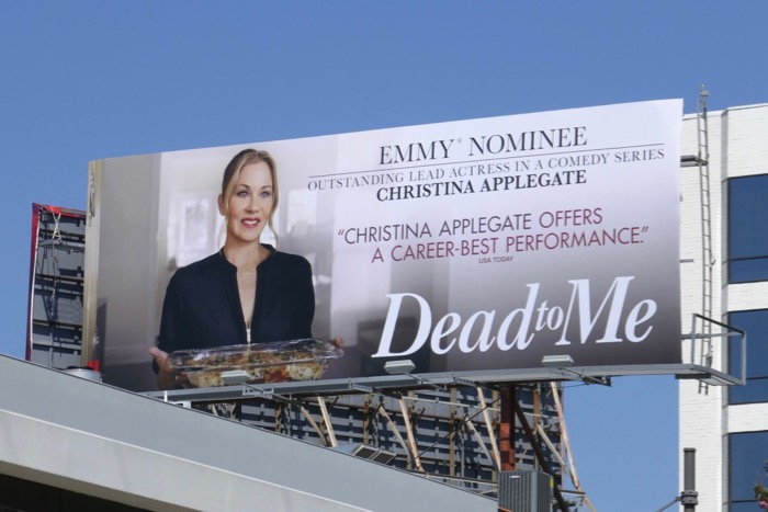Christina Applegate Dead to Me season 1 Emmy nominee billboard