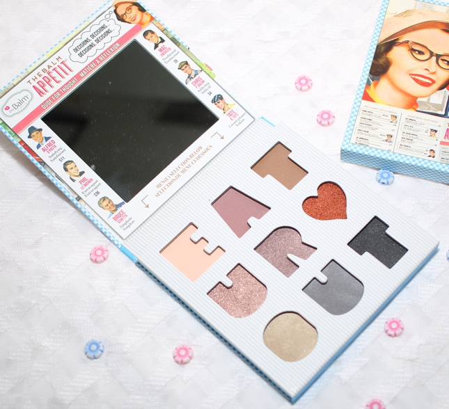 theBalm Appetit Eyeshadow Palette review
