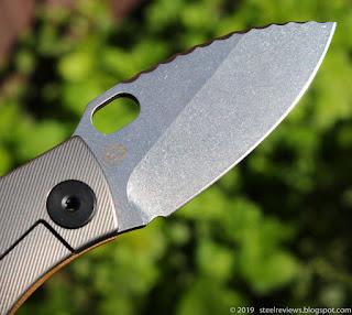 Strider SJ75 titanium frame-lock clone