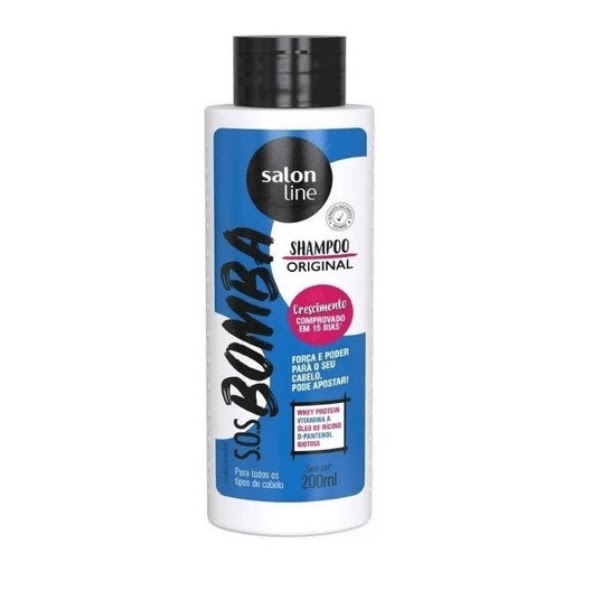 Shampoo S.O.S Bomba Salon Line