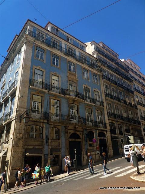 las cuestas y pendientes del centro de Lisboa