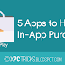 Top 5 Apps to Hack In-App Purchase in Android