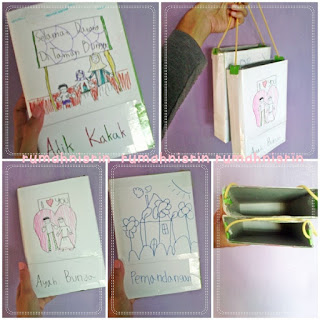 Milk Box Craft for elementary