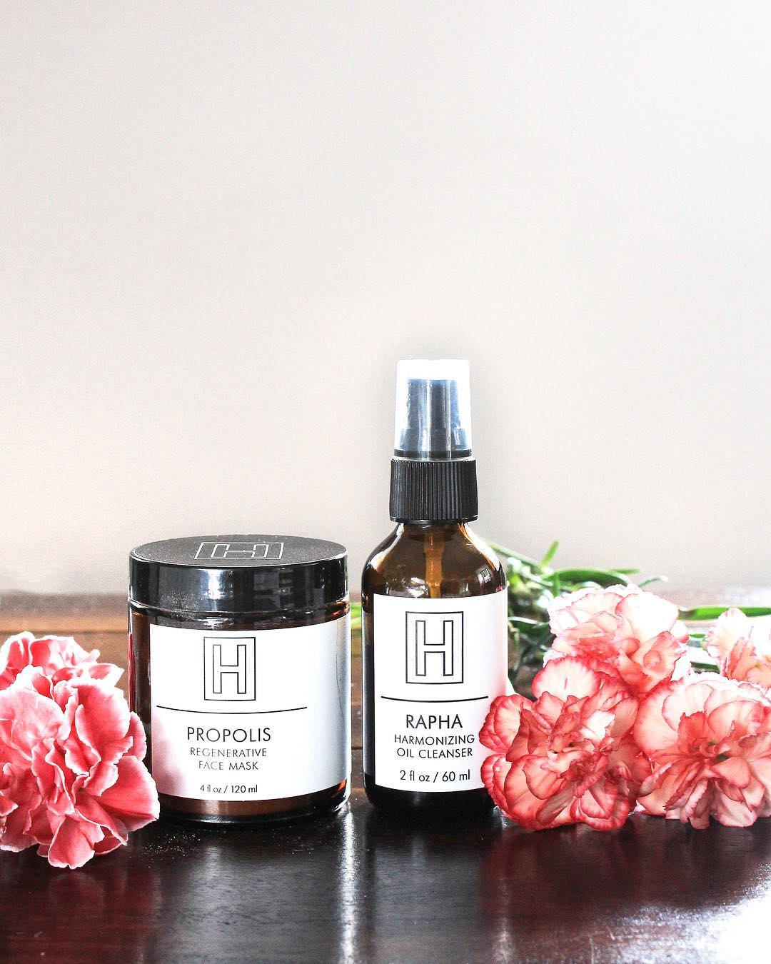 H IS FOR LOVE So Natural Beauty RAPHA Harmonizing Oil Cleanser and PROPOLIS Regenerative Face Mask giveaway