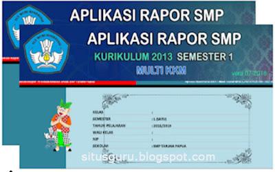 Download Gratis Aplikasi Penilaian dan Raport SMP Kelas 7, 8, dan 9