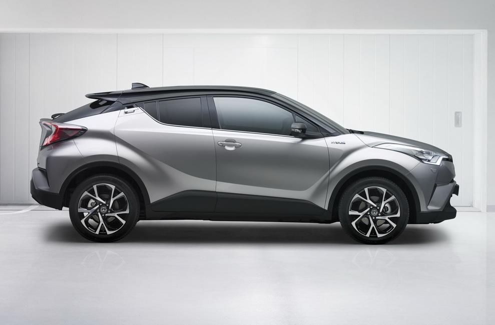 Toyota C-HR 2017 chắc chắn tạo nên cơn sốt trong thị trường CUV cỡ nhỏ