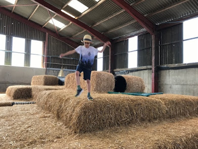Tapnell Farm Park straw play barn