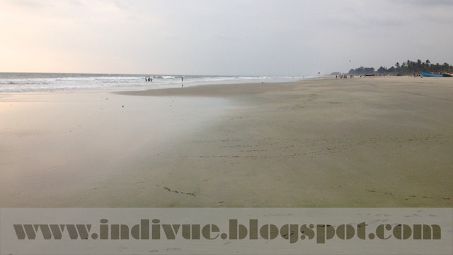 Zalor Beach, Goa, Intia