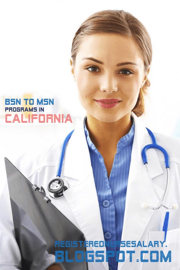 bsn to msn programs in california