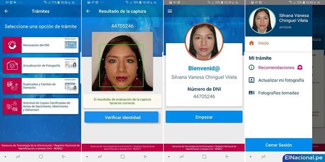 Renovación de DNI desde celular: conoce cómo realizar este trámite Reniec App