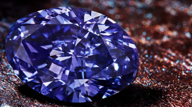 'Impossibly Rare' The Largest Violet Diamond  Ever found