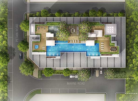 The Citron Residences Site Plan
