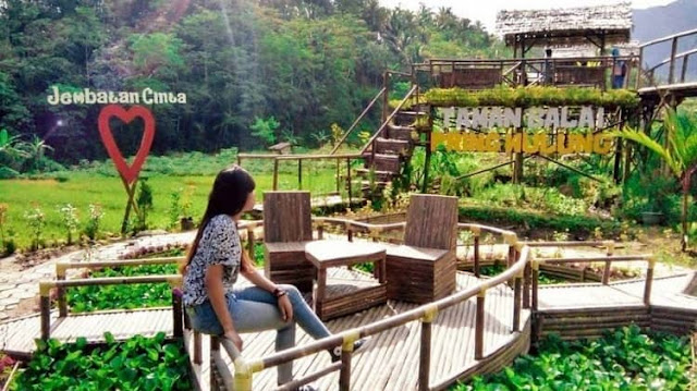 Dimana sih lokasi jembatan cinta Pring Wulung?