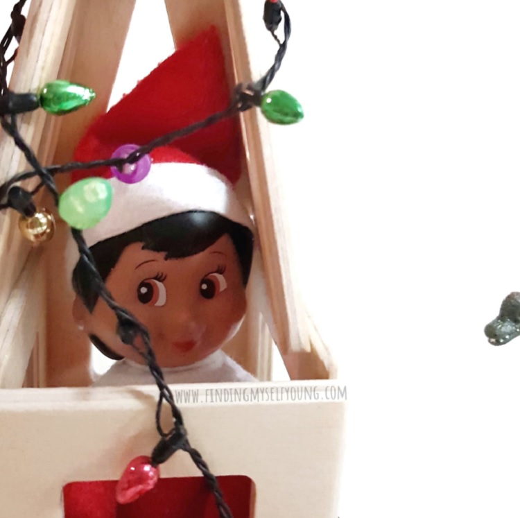 elf on the shelf held hostage