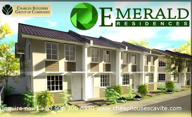 Emerald Residences Pag-ibig House for Sale in Tanza Cavite