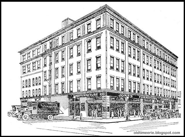 Old Time Erie Jones Furniture Company 1130 Peach St Erie Pa