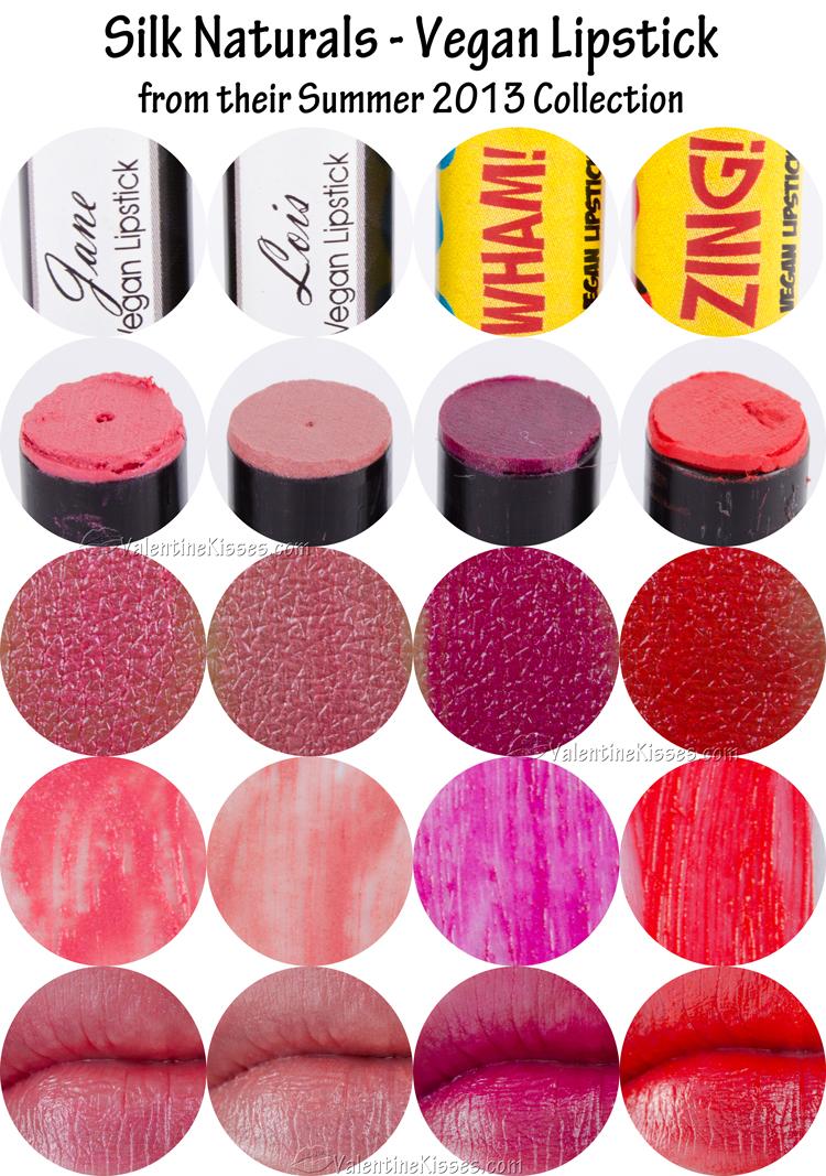 Silk Naturals Lipstick Review