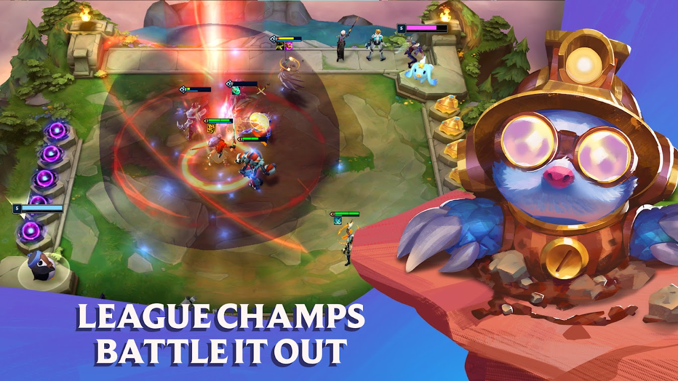 معلومات موجزة عن Teamfight Tactics Mobile لعب مشابهة لـ Auto Chess
