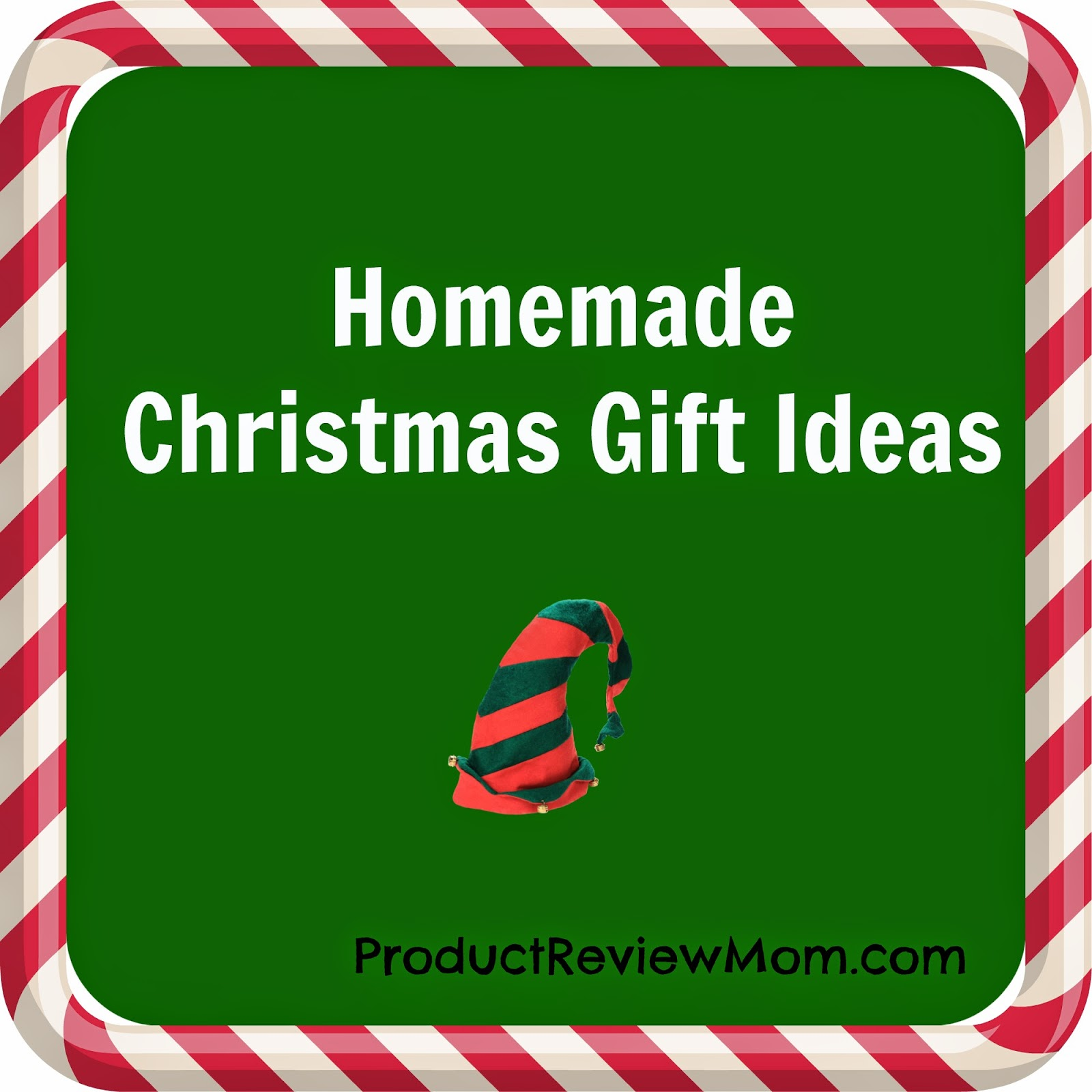 Homemade Christmas Gift Ideas #HolidayGiftGuide via www.productreviewmom.com
