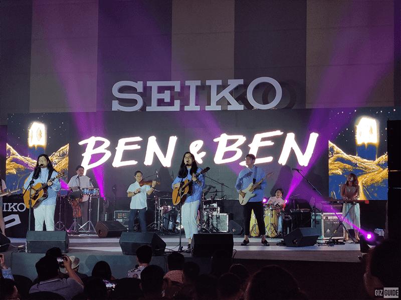Ben&Ben, Seiko 5 Sports Ambassador