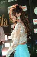 Angela Krislinzki in a lovely Neon Blue Skirt at IIFA Utsavam Awards 2017  Day 2  Exclusive 04.JPG