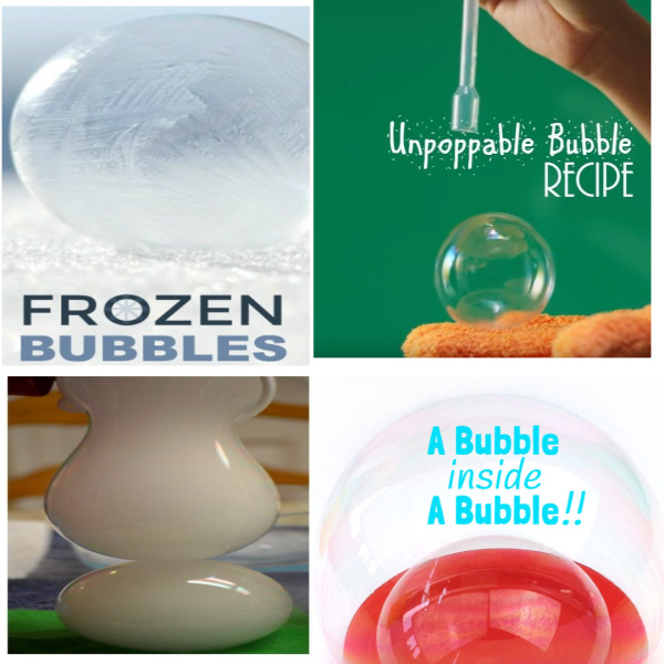 Play and explore with bubbles using these bubble recipes for kids!  Fun crafts, science experiments, art activities, and more! #bubbles #bubblescraftspreschool #bubblesexperiments #bubblesrecipe #bubblesrecipehomemade #bubblescraftsforkids #bubblesactivities #bubblesart #bubblerecipesforkids #growingajeweledrose #activitiesforkids #kidscrafts