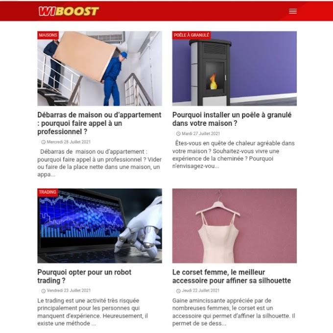 Inscrire votre site Web dans l'annuaire: wiboost.fr