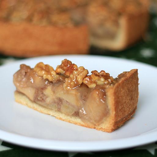 Der Muss Haben Sieben Sachen 009 Apfel Walnuss Kuchen