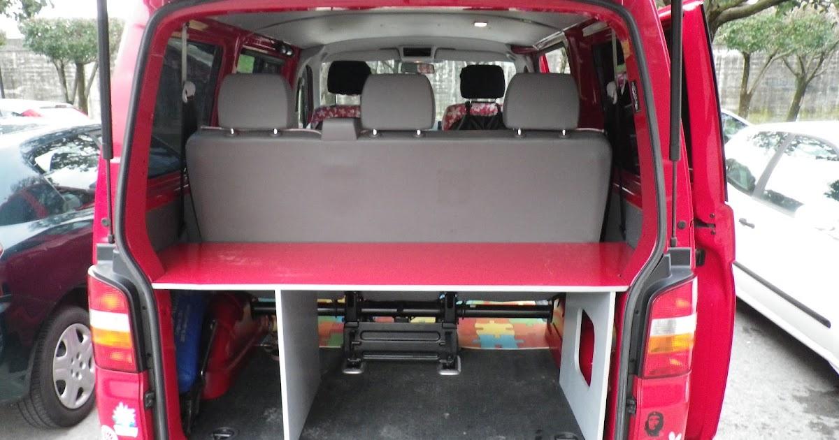 planeta furgoneta montaje de cama en furgoneta volkswagen t 5. Black Bedroom Furniture Sets. Home Design Ideas
