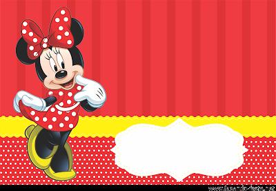 Convites Silverbeco Minnie Vermelha