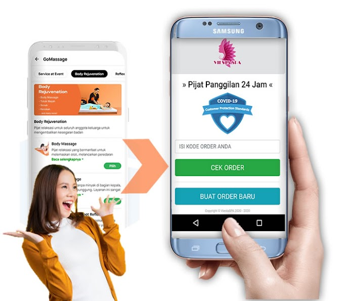 Aplikasi Pijat Panggilan Pengganti GoMassage