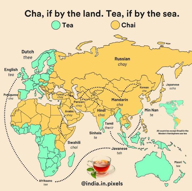 Teh atau chai?