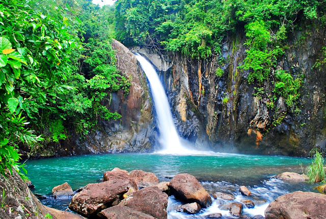 Tinago Falls in Biliran