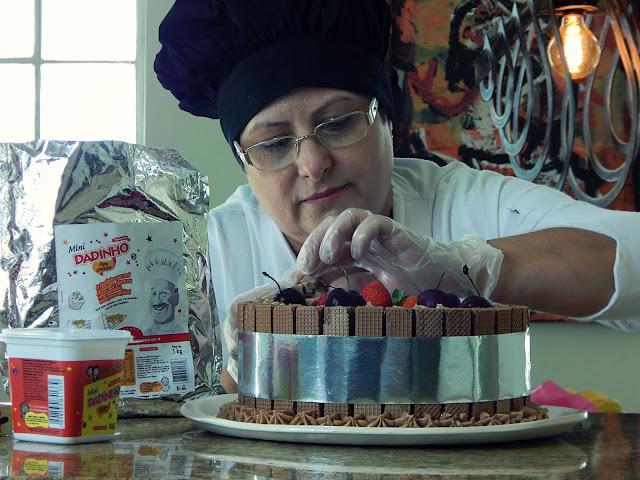 Receita Naked Cake de Dadinho
