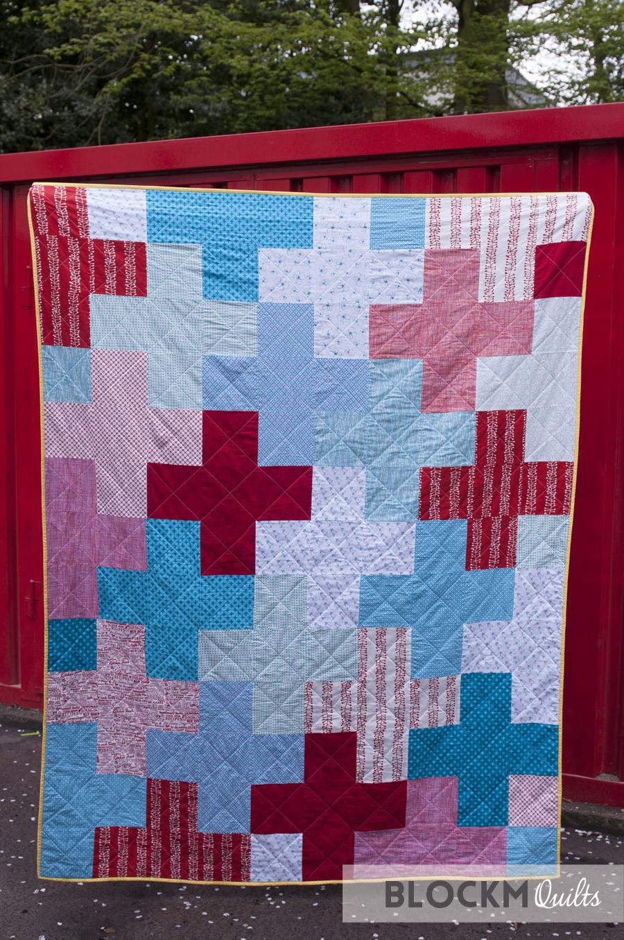 Block M Quilts Giant Plus Quilt