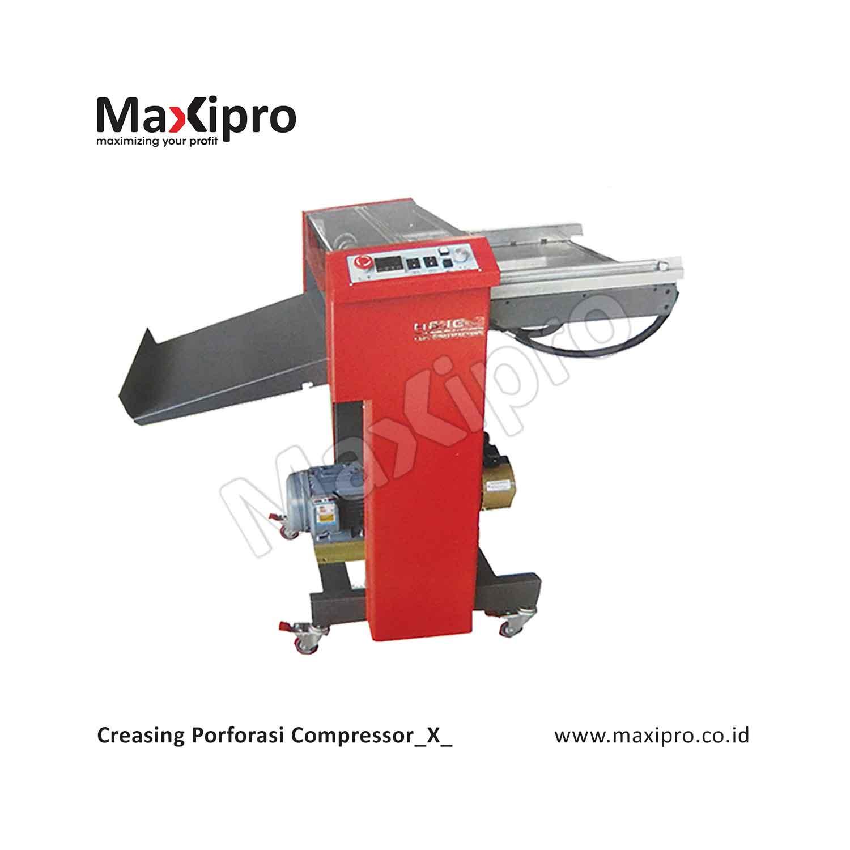 Penggunaan Mesin Creasing Porforasi dalam Usaha Percetakan