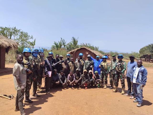 Bermodal Air Bersih, Satgas Garuda TNI Di Kongo Berhasil Bujuk Milisi Bersenjata Untuk Menyerah