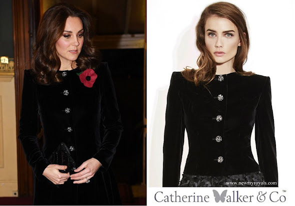 Kate Middleton wore Catherine Walker Caressa Bespoke Jacket
